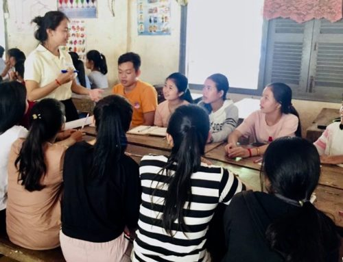 Visit to High Schools in Kampong Cham