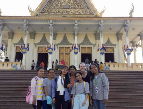 New Students Explore Phnom Penh