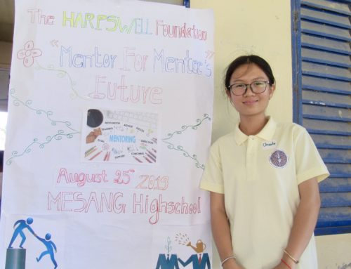 Harpswell Students Lead Mentoring Initiative at Mesang High School